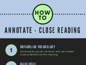 How to Annotate- Close Reading Iconographic