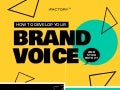 How to develop your brand voice (and stick with it) [INFOGRAPHIC]