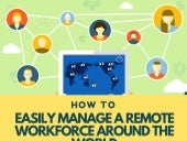How to Easily Manage a Remote Workforce Around the World