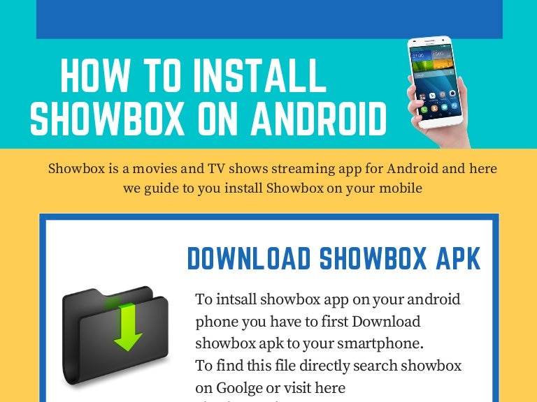 how to install showbox app on android