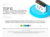 Html 10 best practices