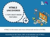 HTML 5 - Top 6 must know features
