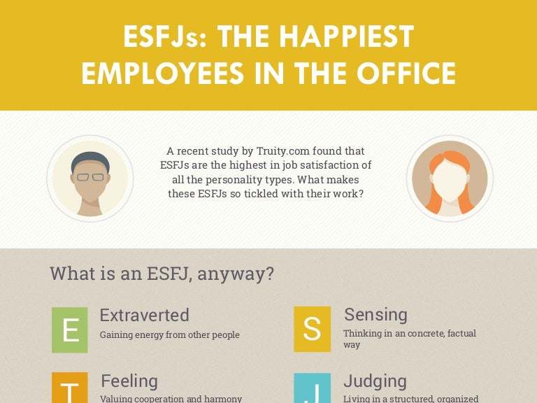 Esfjs The Happiest Employees In The Office