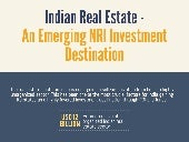 Investment opportunities for NIRs in India