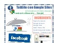 Facebook Tab Site con Google Sites