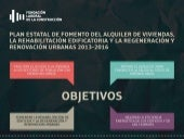 Infografia sobre el Plan Estatal de fomento del alquiler y rehabilitacion 2013-2016