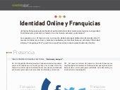 Infografia _ Identidad Online y Franquicias 2012