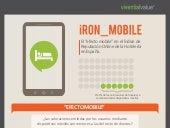 """INFOGRAFIA """"iRON_MOBILE"""" - El efecto mobile en el Índice de Reputación Online de Hoteles 2013"""