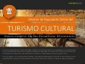 Infografia monitor de reputacion online de turismo cultural vivential value 2017