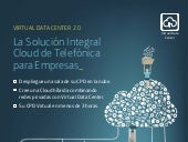 Infografia Virtual Data Center. Más información Tendencias CLOUD en  http://ow.ly/KFlHa