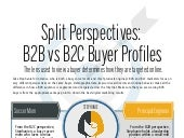 B2B vs B2C Buyer Profiles