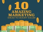 10 Amazing Marketing Ideas to Boost Sales - Infographic
