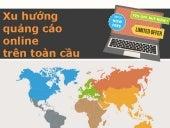 Bức tranh toàn cảnh quảng cáo online trên toàn cầu - infographic Global Online Advertising