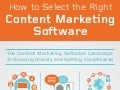 [Infographic] How to Select the Right Content Marketing Software, by Altimeter Group
