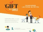 Infographie A gift for a smile