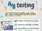 Infographie A/B testing par Cabestan