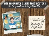 Infographie experience client par Cabestan