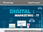 [Infographie] Les Métiers du Digital : focus sur les profils IT & Marketing