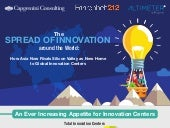 The Rise in Asia Innovation Centers - Infographic