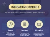 Interactive Content Infographic: Dynamic Content Marketing Statistics
