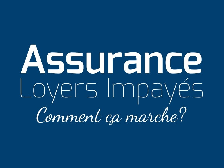 Infographie Assurance Loyers Impayes Comment Ca Marche