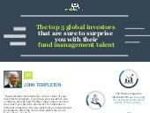 Crowdinvest : Diversified investment portfolio strategy from the top 5 global investors