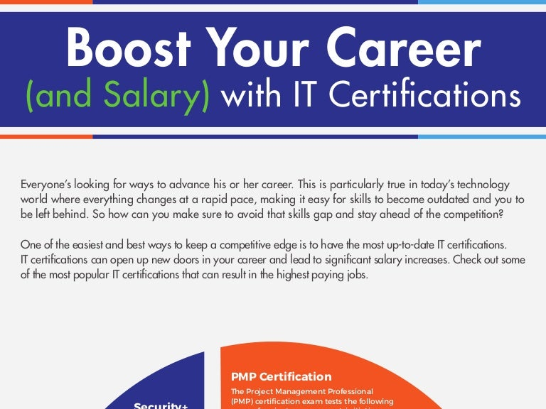 Boost Your Career and Salary with IT Certifications – Salary Certification