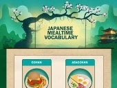 Japanese meal time vocabulary