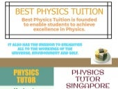 JC Physics Tuition