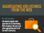 Aggregating Job listings from the Web