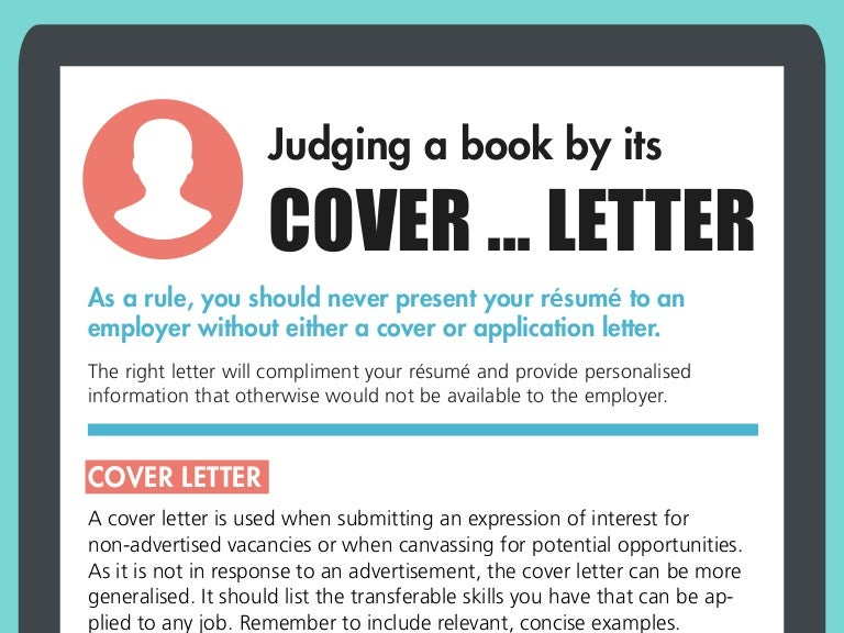 SlideShare  A Cover Letter Is An Advertisement