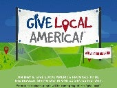 A Snapshot of Give Local America