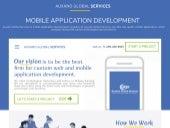 Leading Mobile App Development Company - Auxano Global Services