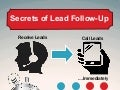 Secrets of Lead Follow Up