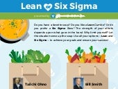 Infographic: Lean - or - Six Sigma?