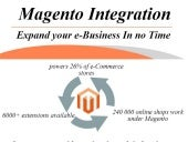 Magento Integration: Expand your e-Business in no Time
