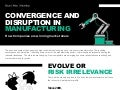 Convergence and Disruption in Manufacturing