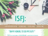 Discover your personality profile with MBTI: ISFJ
