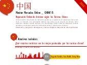 Monitor de Mercados Online - Turistas Chinos 2015