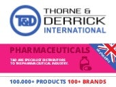 NEW Infographic - See How T&D Service The Pharmaceutical Industry