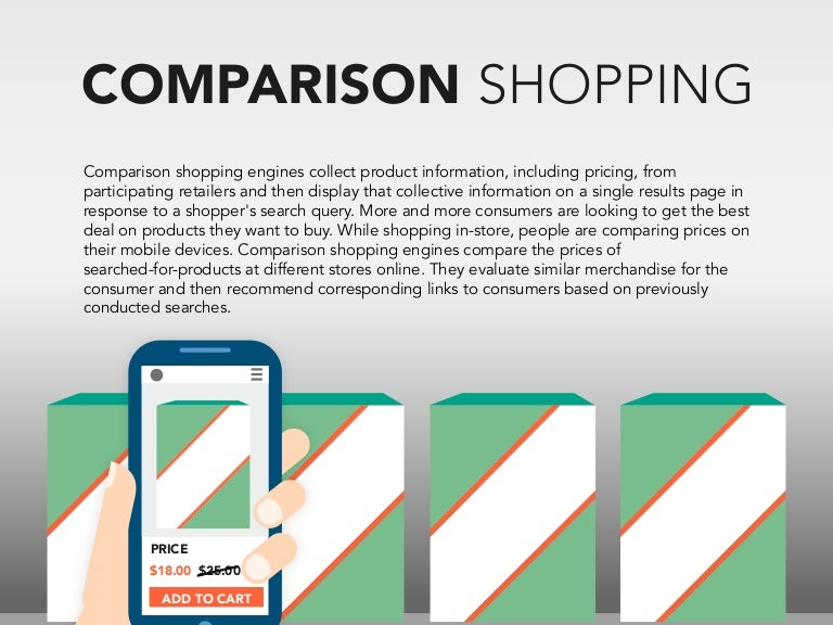Compare shopping at store and shopping online