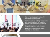 Non-Profit Meetings