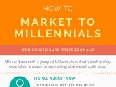 How to Market to Millennials (for Health Plans)!