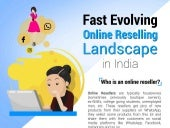 Online Reselling landscape in india