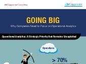 Operational analytics infographic