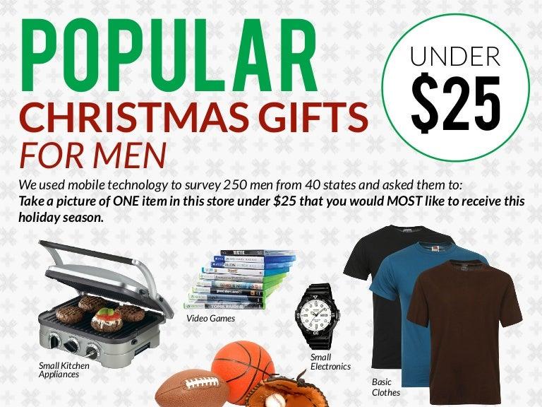 sc 1 st  SlideShare & Popular Christmas Gifts For Men Under $25