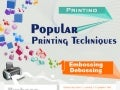 Popular printing techniques