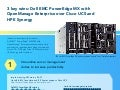 3 key wins: Dell EMC PowerEdge MX with OpenManage Enterprise over Cisco UCS and HPE Synergy