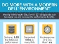 SQL Server 2016 database performance on the Dell PowerEdge R930 QLogic 16G Fibre Channel with StorFusion Technology with Dell Storage SC9000 all-flash array - Infographic