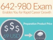 Practice for 642-980 exams with real questions [Infographic]